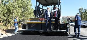 """Başkan Altay: """"Aladağ yolu, turizm yolu haline geliyor"""""""