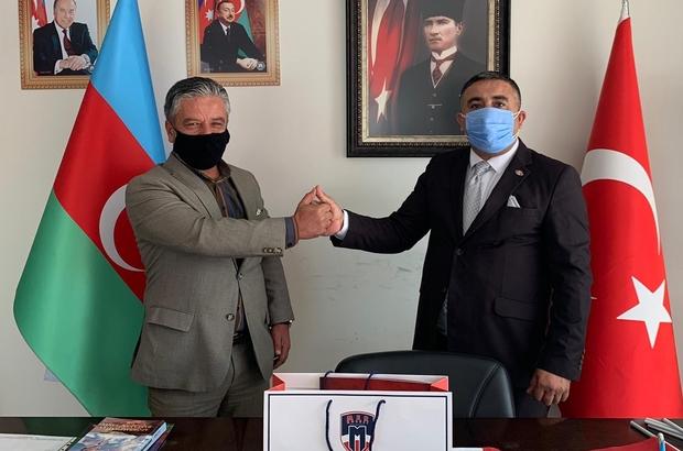 Azerbaycan'a bir destek de MER Kolejinden