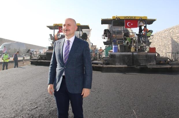"""Bakan Karaismailoğlu: """"100 yılda yapılamayacak işleri Cumhurbaşkanımızın liderliğinde tamamladık"""" Ulaştırma ve Altyapı Bakanı Adil Karaismailoğlu: """"Kömürhan Köprüsü Elazığ, bölge, Türkiye ve dünya için örnek projelerde bir tanesi"""" """"Kömürhan Köprüsünde 7 bin ton çelik kullanıldı, 420 kilometrelik kaynak yapıldı"""" """"Hakkari'de ne yapıyorsak İzmir, İstanbul ve Elazığ'da da onu yapıyoruz"""""""