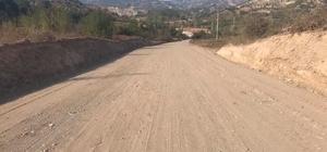 Selim Köyü yolu genişletme çalışmaları devam ediyor