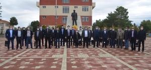 Beylikova'da Muhtarlar Günü münasebetiyle tören düzenlendi