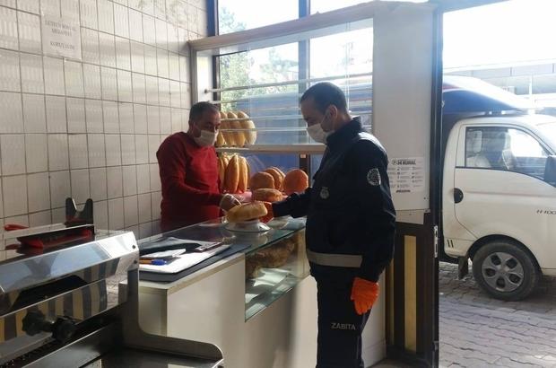 Simav'da Zabıta Müdürlüğü'nden gramaj denetimi