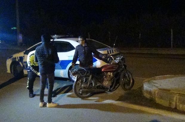 Ekiplerden sıkı denetim Tansiyonu düştü arabayı ehliyetsiz arkadaşına vermesi pahalıya patladı