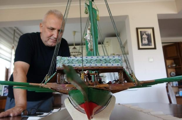 Pandemide Türkiye'nin en büyük minyatür kadırgasını yaptı Suda yüzebilen her türlü geminin minyatürünü yapan Metin Kurtoğlu, 122 santimetre boyundaki kadırga gemisini 8 ayda tamamladı Yaklaşık 20 yıldır 400'den fazla Karadeniz Takası, 100'den fazla da değişik tarzda ahşaptan model gemi yaptı