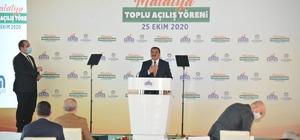 """Cumhurbaşkanı Erdoğan: Yolumuzu kesmeye çalışanlara inat, her gün yeni bir projenin açılış sevincini yaşıyoruz"""" """"Salgın döneminde yatırım hamlelerine yenilerini ekliyoruz"""" Cumhurbaşkanı Erdoğan Malatya'da toplu açılış törenine katıldı"""