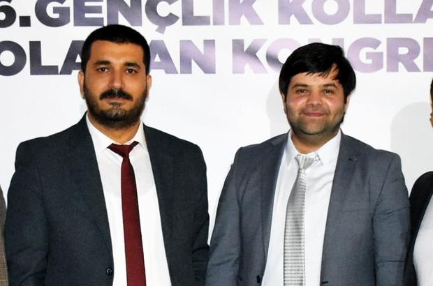 Gençlik kollarında görev değişimi Başkan Şentürk, görevini Çakan'a devir etti