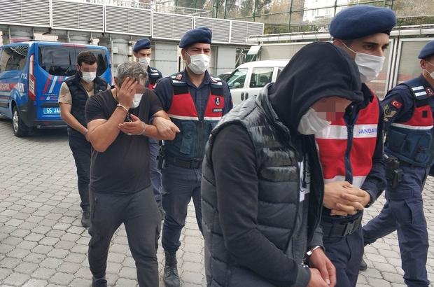 Samsun'da esrarla yakalanan 3 kişi gözaltına alındı