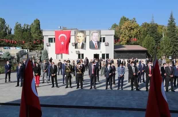 Tunceli'de 29 Ekim Cumhuriyet Bayramı kutlamaları