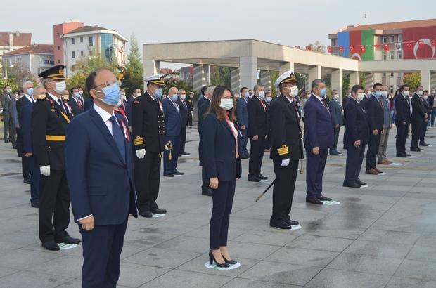 Cumhuriyet Bayramı Bartın'da törenle kutlandı
