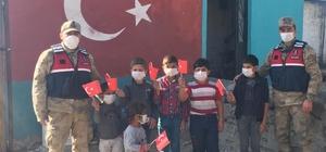 Sarıkamış'ta 29 Ekim'de Jandarmadan anlamlı etkinlik