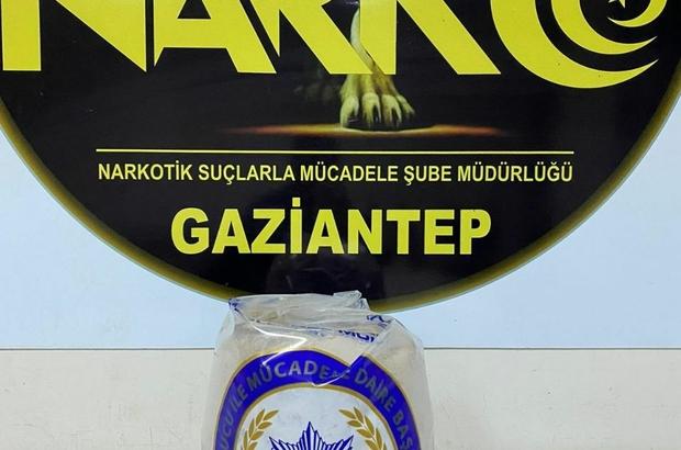 Gaziantep'te 8 kilo eroin ele geçirildi