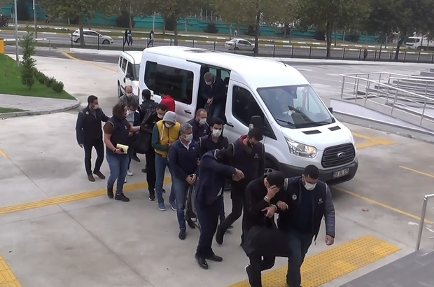 Tekirdağ merkezli 14 ilde FETÖ'den yakalanan 23 kişi adliyede