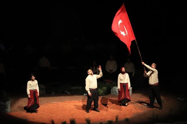Pamukkale Belediyesinden 'İşgalden Cumhuriyete' özel gösterisi