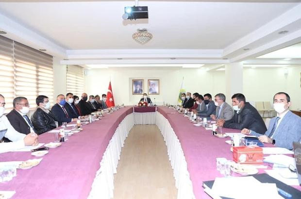 Çevre Hizmetleri Birliği toplantısı gerçekleşti