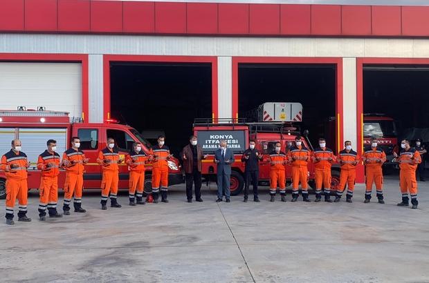 Konya'dan İzmir'e 24 kişilik yardım ekibi gönderildi