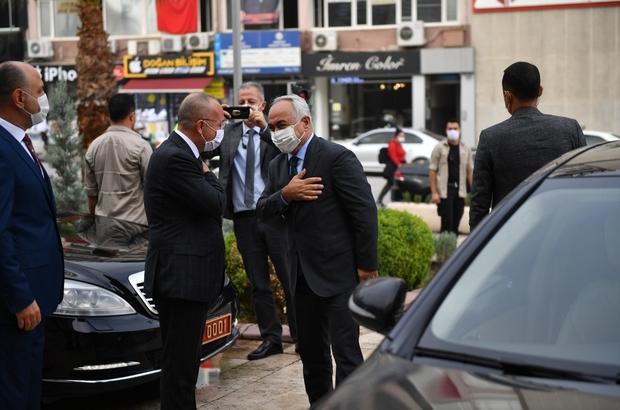 İçişleri Bakan Yardımcısı Vali Mehmet Ersoy, Denizli'de toplantıya katıldı