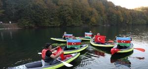 Ordu'dan dünyaya Azerbaycan mesajı