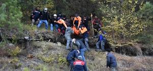 Sinop'ta kayıp olarak aranan yaşlı adamın cesedi uçurumdan çıkarıldı
