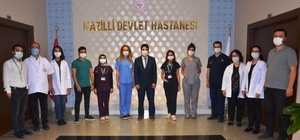 Nazilli'ye atanan 11 doktor göreve başladı