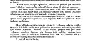 Denizli'de 2 mahalle 14 gün karantina altına alındı