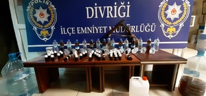 Sivas'ta sahte içki operasyonu