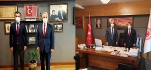 Kaymakam Koşal, Kars Milletvekillerini Ziyaret Etti