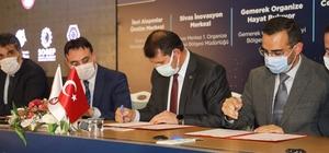 ORAN'dan Sivas'a 13.7 milyonluk yeni yatırım Orta Anadolu Kalkınma Ajansı (ORAN) tarafından 13 milyon 750 bin Türk Lirası ile destelenen 4 projenin imzaları düzenlenen törenle atıldı.