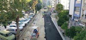 Büyükşehir yol yapım çalışmalarını sürdürüyor