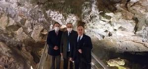 Sarıkaya Mağarasında inceleme