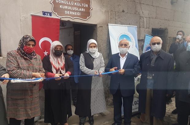 Kayseri Gönüllü Kültür Kuruluşları Derneği'nin yeni hizmet binası açıldı