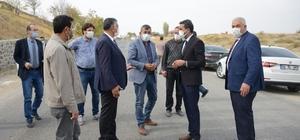 Yazıhan'da yol sorunları çözülüyor
