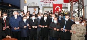 Erzurumlu iş adamı kaybettiği oğlu adına Kur'an Kursu ve Taziye Evi yaptırdı