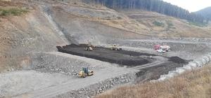 Sarıkamış 7 Kasım Barajı'nda çalışmalar aralıksız devam ediyor