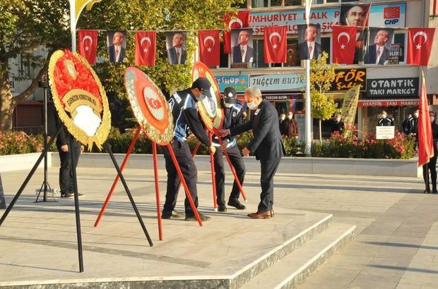 Akşehir'de Atatürk'ü anma etkinliği