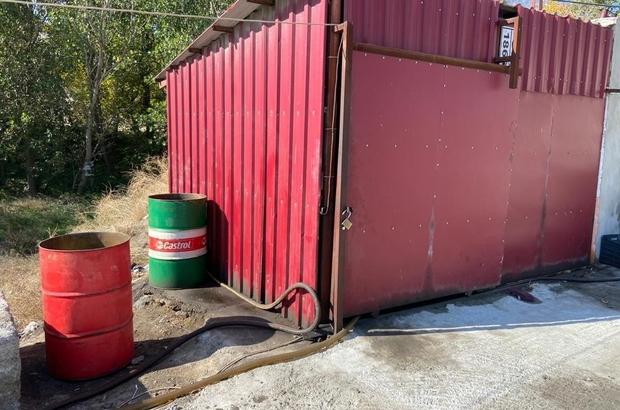 Adana'da 25 ton 250 kilo kaçak akaryakıt ele geçirildi Operasyonda kaçak akaryakıtı piyasaya sürmek isteyen 8 zanlı gözaltına alındı