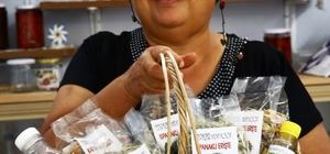 Yenipazarlı kadınlar üretiyor, Büyükşehir destekliyor Büyükşehir'in desteği ile ürünlerin satışı arttı