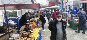 Yenice'de halk pazarı iki hafta kurulmayacak