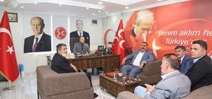 Başkan Sunar ve Başkan Eser'den Karataş'a ziyaret