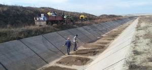 Beylikova'da sulama kanalı 20 Kasım'da suyla buluşacak