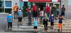 """Türkeli Gençlik Merkezi'nden """"mavi kapak"""" etkinliği"""
