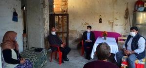 Kaymakam Divli'den, Gülgün teyzeye teşekkür ziyareti Eşinin maaşını depremzedelere bağışlamıştı