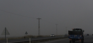 Eskişehir'de yoğun sis etkili oldu