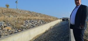 Beylikova Belediye Başkanı Alp'den sulama barıjında inceleme