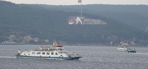 Gökçeada feribot seferleri iptal edildi