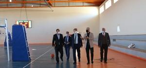 Diyarbakır Gençlik ve Spor İl Müdürü Nüammer Uslu Dicle ve Hani'de incelemelerde bulundu