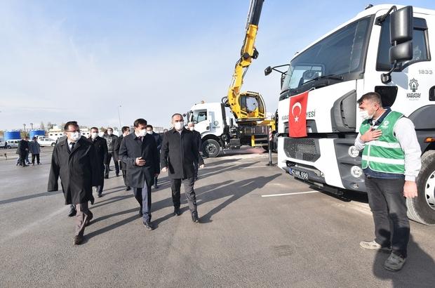 Karatay Belediyesi araç filosuna 15 yeni araç dahil etti