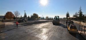 Okullara asfalt desteği