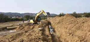 Bozdoğan'da 31 bin 900 dekar alan sulamaya açıldı