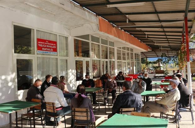 Aksekili üreticilere tarım uygulamaları eğitimi Büyükşehir Belediyesi'nden Aksekili üreticilere destek