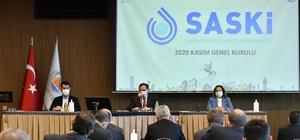 """Başkan Demir: """"2021 SASKİ'nin yatırım yılı"""""""